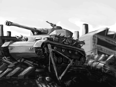 panzer 4 by lizardlars
