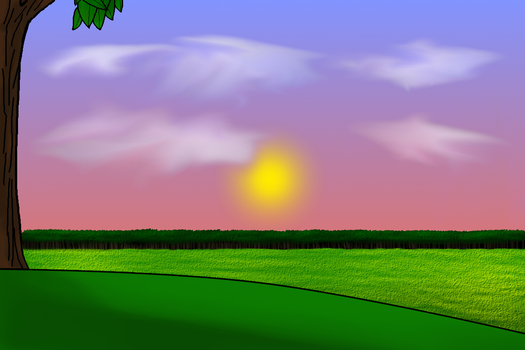 Sunset Background by DalePineapple