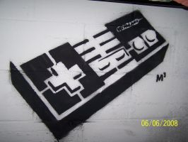NES Stencil by IsometricPixel