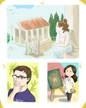 Days 2, 3 and 4 by Laet-lyre