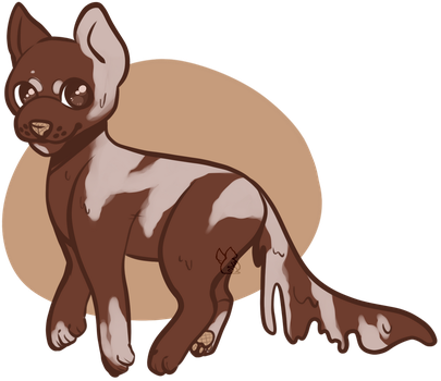[OPEN] Adopt: Ice Cream Pup by MiqotesosAdopts