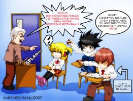 Death Note Gakuen Error by msadagal