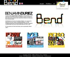 BenD Webdesign new interface by duduOmag