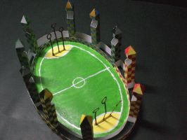 Quidditch Pitch by PhilMagorian