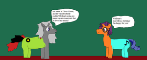 Scootaloo and Silver spoon's musical change pt.11 by thetrans4master