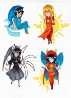 HS- Chibi Tiers 1 by Toadiko25