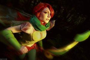 DotA 2 - WindRanger - I run like the wind! by MilliganVick