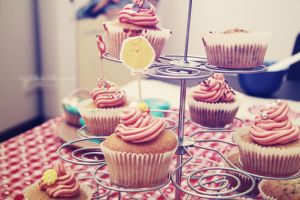 Cupcakes, my love by Lyzie