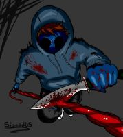 Eyeless Jack (with speedpaint video) by sissadDS