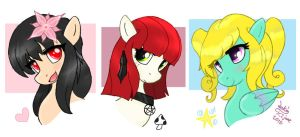 MLP FIM OC - Other peoples characters 01 by Joakaha