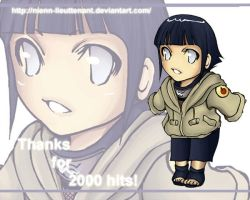 ChibiHinata-Thanks for 2000 by Nienn-Lieuttenant