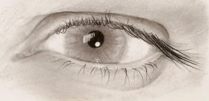 Charcoal Eye Study - revised by virgin-ronin