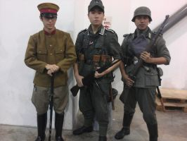 Imperial Japanese Army Officer with the Wehrmacht by DarthKaiser