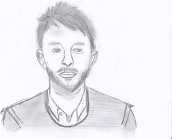 Thom Yorke by Andreschickenmode