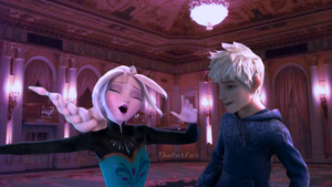 Jack and Elsa- Let It Go by AntFair