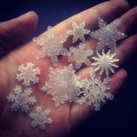 Winter Faery snowflakes by S0WIL0