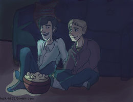 Movie Night by MemiMcfly