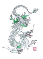 Eastern Dragon by ywsmokona