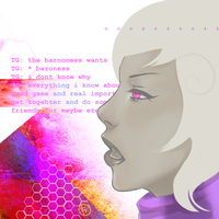 Homestuck: Roxy Lalonde by punkypeggy