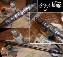 Snape wand by Zolaris