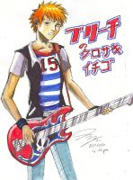 Ichigo no GUITAR by Chinese-Shinigami