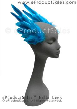 eProductSales Bella Luna BrightBlue Hair Accessory by eProductSales