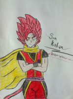 Kuhan new ASJ -Dragon Warrior Outfit- by Prince-Vegeta-0011