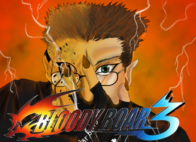 Bloody Roar 3 Retrospective Title Card by TeamAquaSuicune