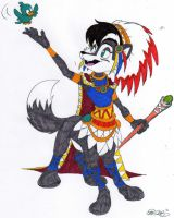 Grand C. Lupe Taur 5 - Colored by dragonheart07