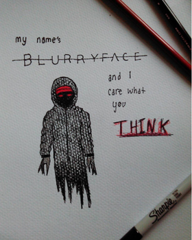 Blurryface drawing by xxitscarriexx