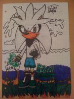Silver The Hedgehog by Fox-On-Fire