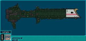 Falchion Class Frigate by leinglo