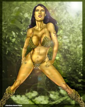 Jungle Girl for MyPSPTubes by martheus