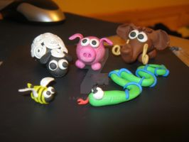 Modelling clay by s-shi