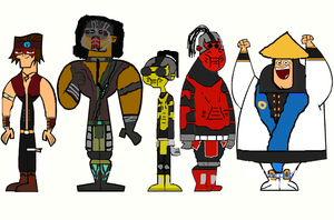 TD Mortal Kombat Group 4 by ThunderFists1988