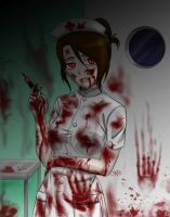 ::Bloody Nurse:: by A-dellaMorte