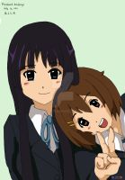 My Mio and Yui by mlcm77