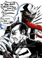 Anti-Venom VS Punisher by Doku-Sama