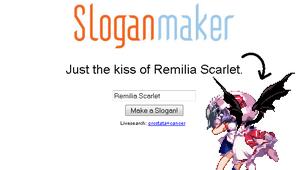 Just the kiss of Remilia Scarlet... by Bar-Kun