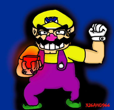 Cube and Wario by 326and966