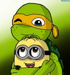 Mikey And Dave by Michivous12