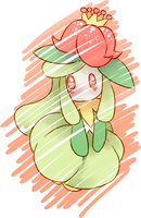 Lilligant - Pkmn by Aiiky