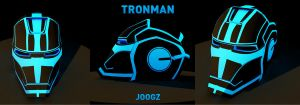 Tron Man by joogz