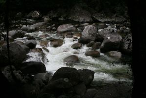 River in Darkness.2 by Mind-Matter