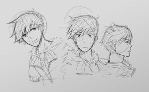 Character Sketches #3 Wilny's Haircut by IShot-U