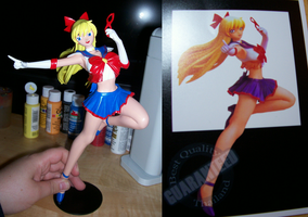 Sailor V Compare by HeiKurashi