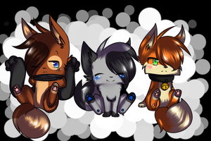 ~.:Team Frienshit or something -speedpaint-:.~ by pinkfrilly