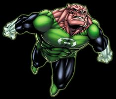 Kilowog by logicfun