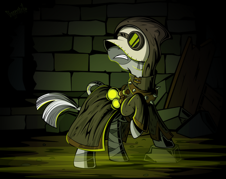 Plague Doctor by Diggerstrike