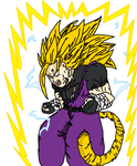 Rez False Super Saiyan 3- Digitize Request by Zelnodi